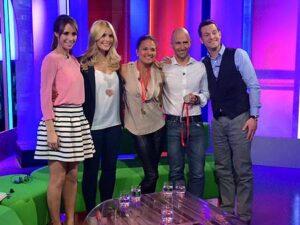 Suzie Chan on the BBC One Show after the 2015 Marathon des Sables