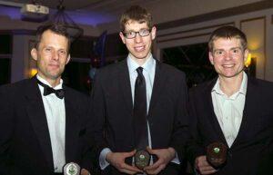 Mens Grand Prix winners at 2016 Annual Awards Dinner