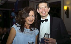 John Phillips and Mary Denise Fitzgerald at 2016 Annual Awards Dinner