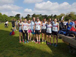 Group at 2016 HRRL Netley 10k