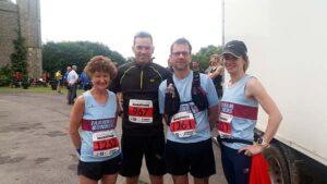 Group at 2016 South Downs Marathon