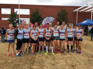 Group at 2017 Lordshill 10k