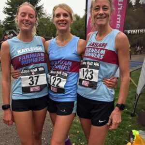 Members at 2018 Alice Holt 10k