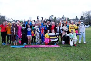 Group in fancy dress at 2018 Club Handicap