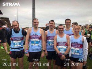 Group at 2019 Abingdon Marathon