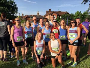 Group at 2019 Elstead Marathon