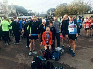 Members at 2019 HRRL Gosport Half Marathon