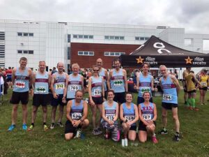 Group at 2019 HRRL Lordshill 10k