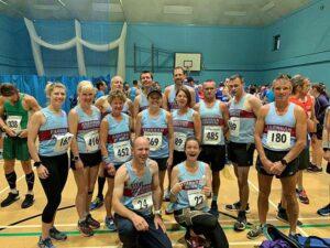 Group at 2019 HRRL Solent Half Marathon
