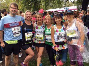 Group before 2019 Royal Parks Half Marathon