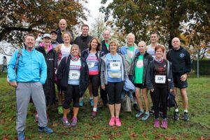 Group at 2019 Rushmoor Wellesley 10k