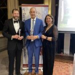 Mens most person bests winners with trophies at the 2020 Annual Awards Dinner