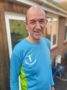 2021 Not Stubbington Green 10k - Damian Probett, in suitable attire after his virtual race