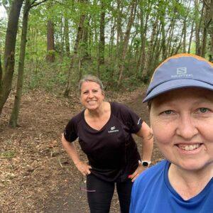 2021 Not Alton 10 - Carolyn Wickham and Nociloa OConner selfie