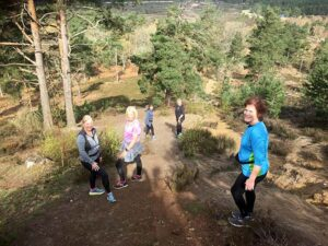 2021 - Not Cross Country 3 - Group of Farnham Runners during their run