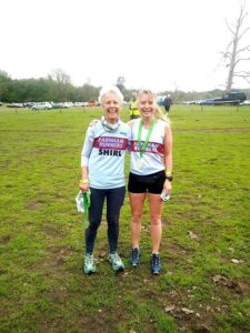 2021 - Woodland Woggle - Shirley Perrett and Kate Townsend with their medals
