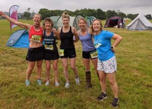 Dream Team at 2021 Endure24 - Vicky Goodluck, Linda Tyler, Louise Granell, Kate Townsend, Gill Iffland